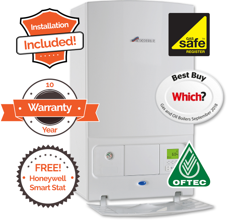 Which Best Buy 2018 | Installation Included, 10 Year Warranty and Free Honeywell Smart Stat